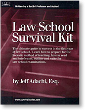 Law School Survival Kit
